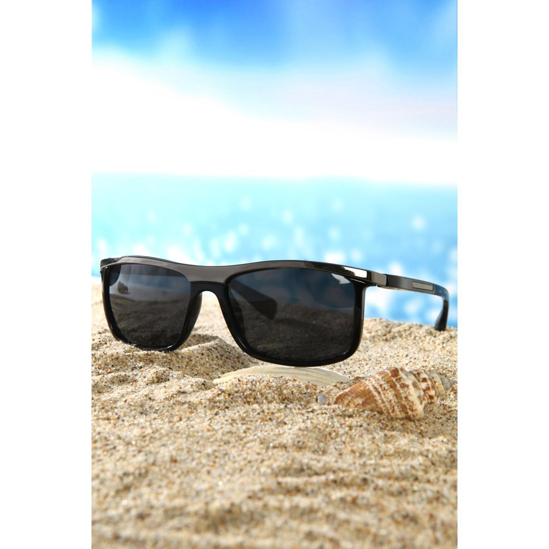 d5c208b64887 Di Caprio DQP2017A Male Polarized Black Sun Glasses