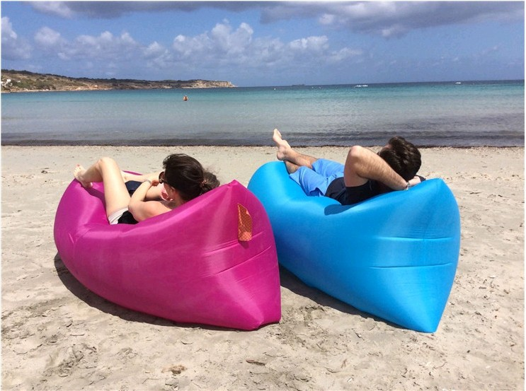 Lazy Inflatable Sofa Camping