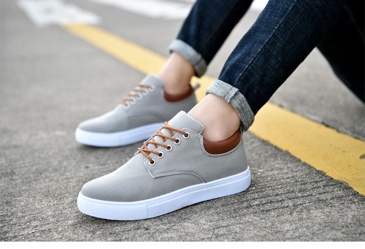 casual canvas shoes