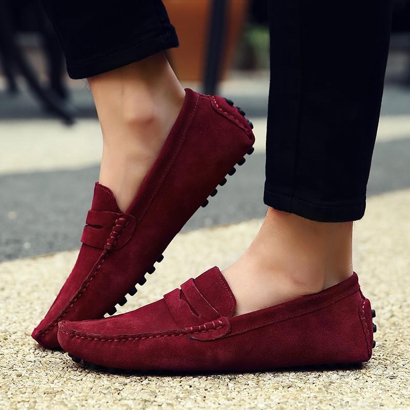 751090b1bc6 Men Casual Shoes 2019 Fashion Men Shoes Leather Men Loafers Moccasins Slip  On Men s