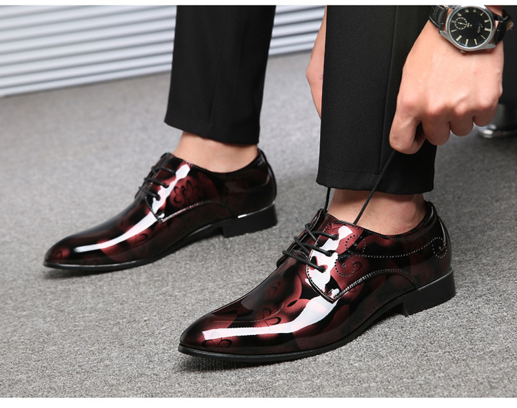 Oxford Shoes For Men Dress Shoes Men Formal Shoes Pointed Toe