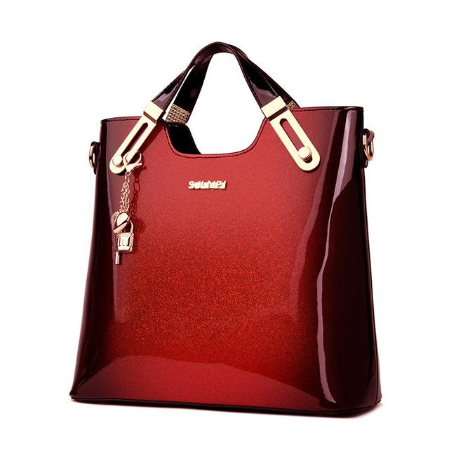 Women Organizer Leather Handbags